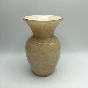 Vintage Art Glass Trumpet Vase
